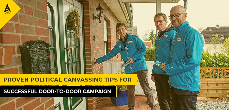 Proven Political Canvassing Tips for Successful Door-To-Door Campaign